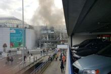 Brüksel havalimanında 2 patlama