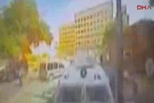 Gaziantep'teki bombalı saldırı kamerada