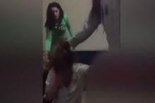 Üniversiteli kızların burun kıran kavgası!