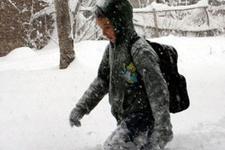 Kar yeniden geldi hangi illerde okullar tatil edildi