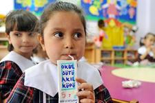 6 milyon öğrenciye okul sütü