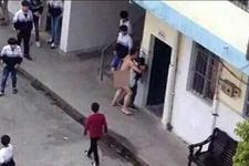 Çıplak öğretmen lise bahçesinde tecavüze yeltendi