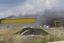 Tuzla'da korkutan patlama