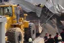 İstanbul Pendik'te beton santrali çöktü!