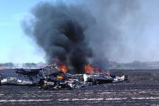 Tekirdağ'da uçak kazası eğitim uçağı düştü!