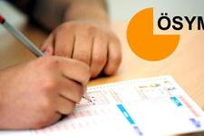 ÖSYM sınav takvimini değiştirdi bu sınavlara dikkat!