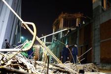 Antalya'da feci kaza 8 işçi enkaz altında