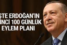 İşte Erdoğan'ın ikinci 100 günlük eylem planı