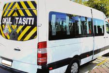 İçişleri Bakanlığı açıkladı: 599 okul servisi trafikten men edildi