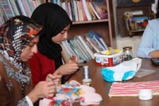 ÇATOM Suriyeli aileleri topluma kazandırıyor