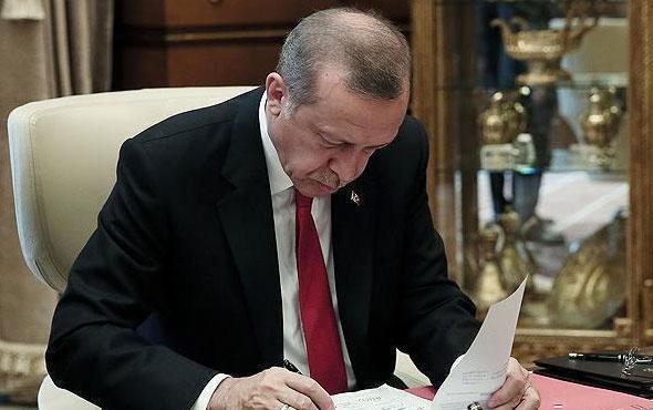 Cumhurbaşkanı Erdoğan imzaladı 6 üniversiteye yeni rektör