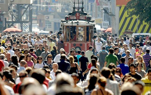Türkiye'nin nüfusu belli oldu! İşte en çok nüfusa sahip üç il