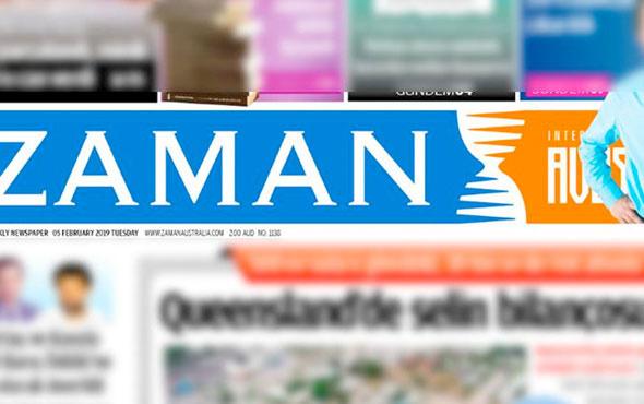 FETÖ'nün Avustralya'daki gazetesi kapandı