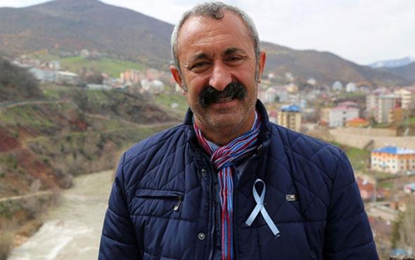 Tunceli'de Mehmet Fatih Maçoğlu mazbatasına kavuştu