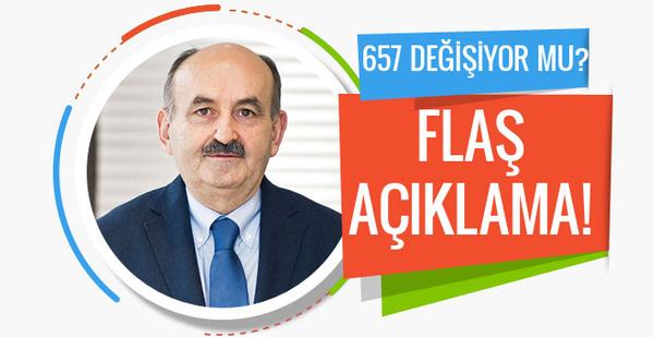 657 değişiyor mu Mehmet Müezzinoğlu açıkladı