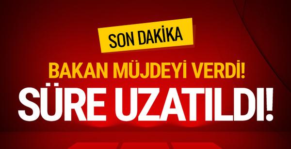 Bakan Ağbal hazine arazilerini kullanan vatandaşlara müjdeyi verdi!