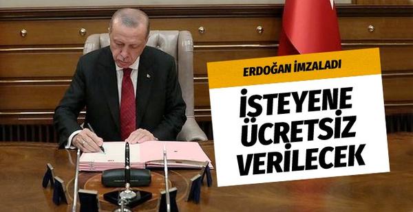 Erdoğan imzaladı: Sigarayı bırakmak isteyene ücretsiz verilecek