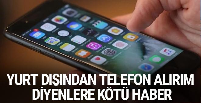 Yurt dışından teknolojik alet getirenlere kötü haber Resmi Gazete'de yayımlandı