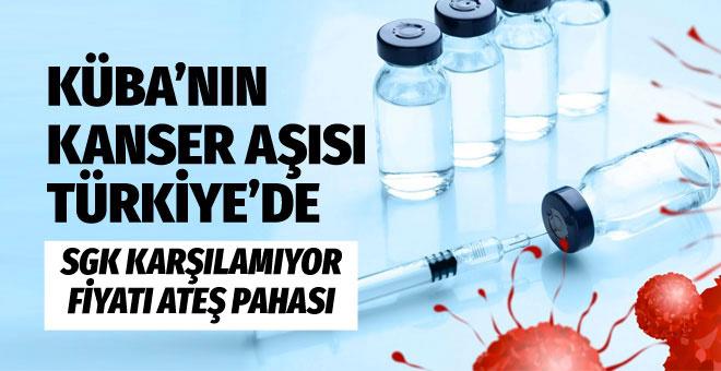 Küba'nın kanser aşısı artık Türkiye'de! Fiyatı cep yakar