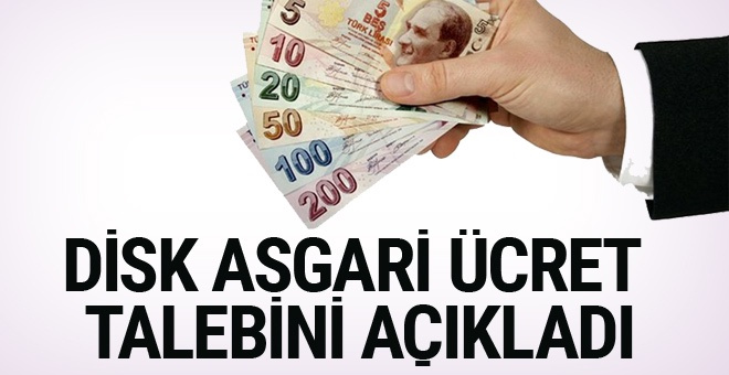 DİSK: Asgari ücretin net 2 bin 800 lira olması gerek