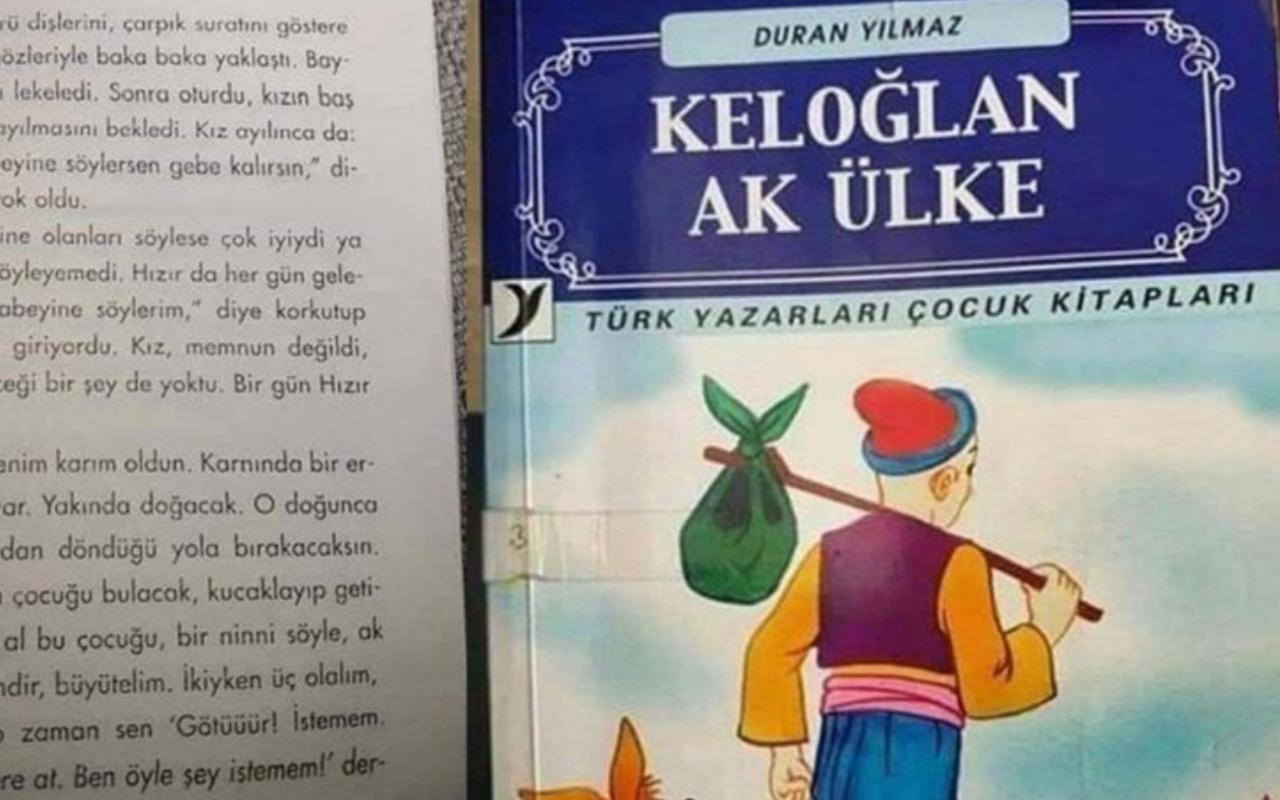 Velileri çılgına çeviren ahlaksız çocuk kitapları