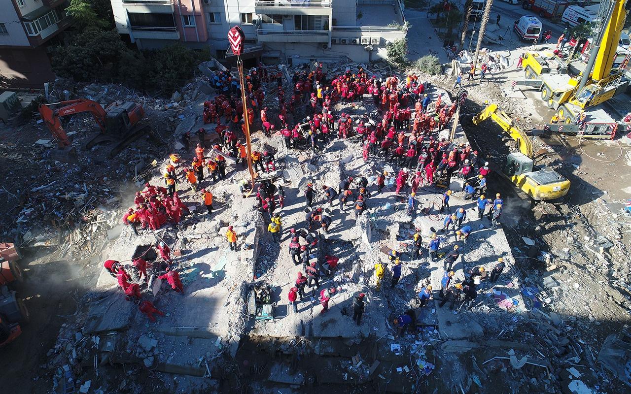 AFAD açıkladı! İzmir'de can kaybı 115'e yükseldi