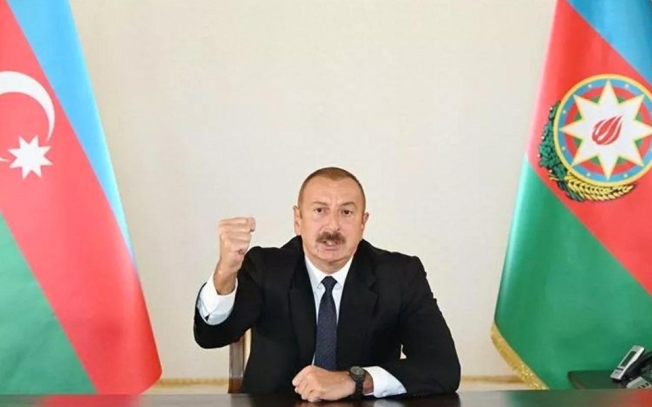 Azerbaycan Cumhurbaşkanı Aliyev: Ermenistan tazminat ödeyecek