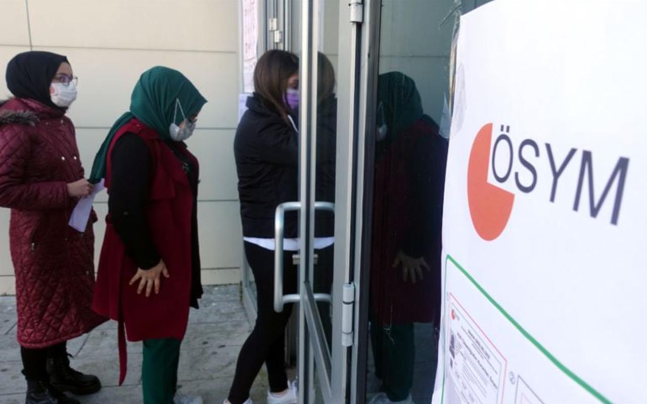 2020 KPSS Ortaöğretim sınavı koronavirüs tedbirleriyle başladı!