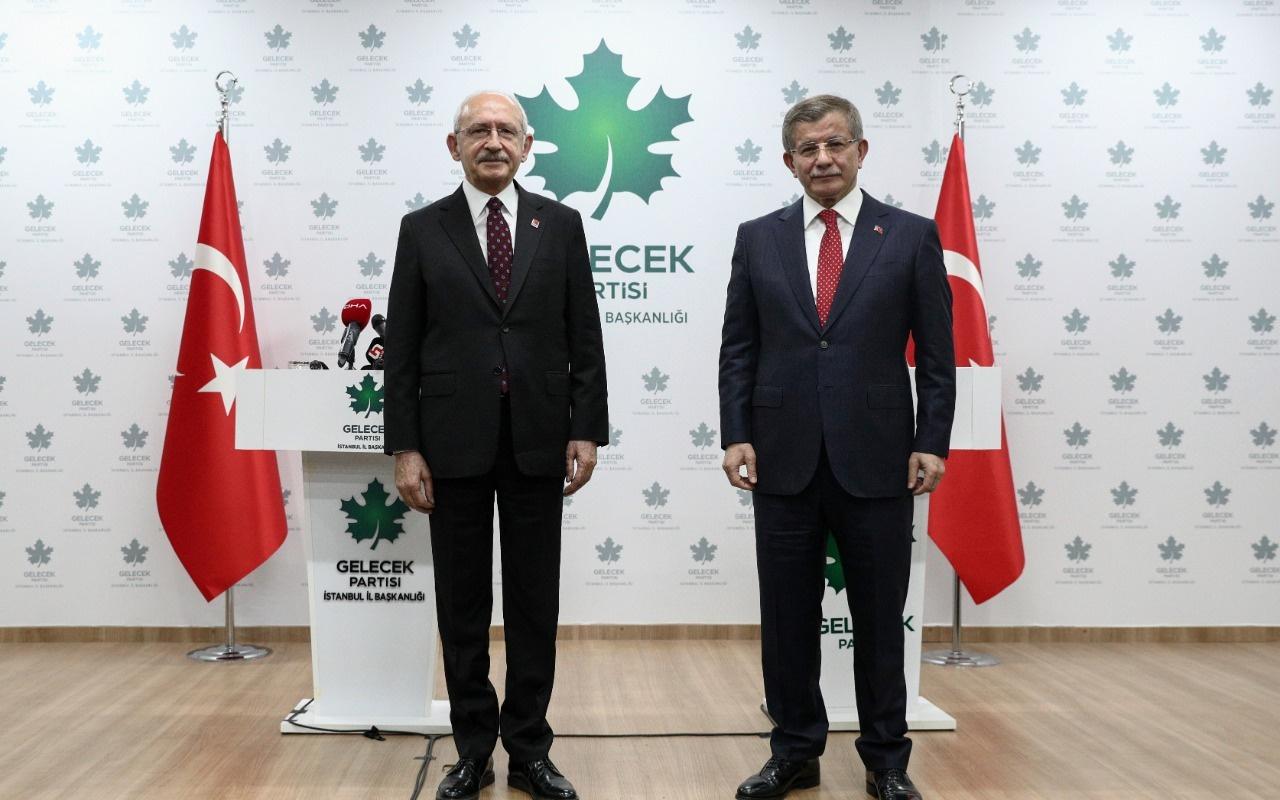 Kılıçdaroğlu Davutoğlu'nu İstanbul'da ziyaret etti