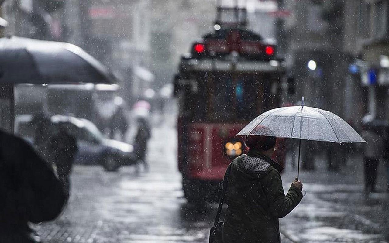 Meteoroloji uyardı sağanak fena geliyor! O illerde dikkat kar geliyor! İşte hava durumu detayları...