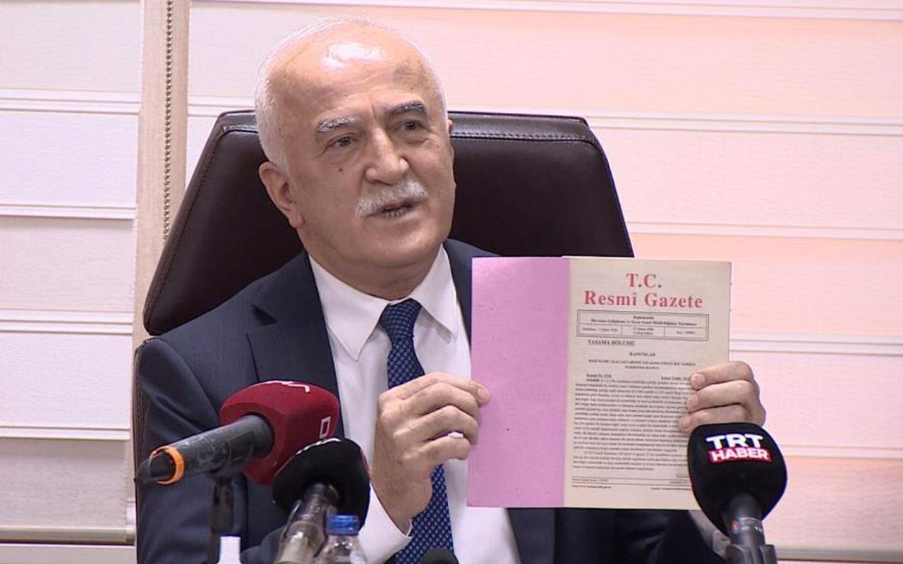 Vakıflar Genel Müdürü'nden İBB Başkanı Ekrem İmamoğlu'na yanıt