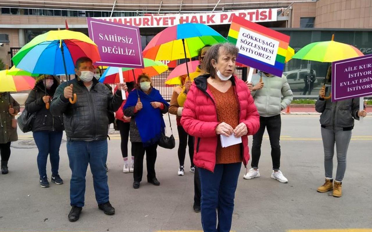 CHP Genel Başkanı Kemal Kılıçdaroğlu'nu Fahri LGBT üyesi yaptılar