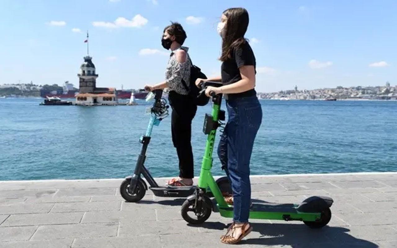 Elektrikli scooterları herkes kullanamayacak! Resmi Gazete'de yayımlandı