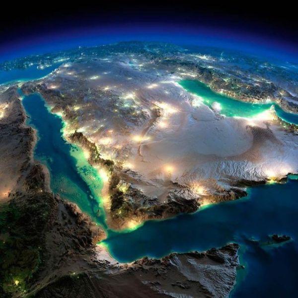 Nasa bu görüntüleri paylaştı! İşte ülke ülke uzaydan görüntüler