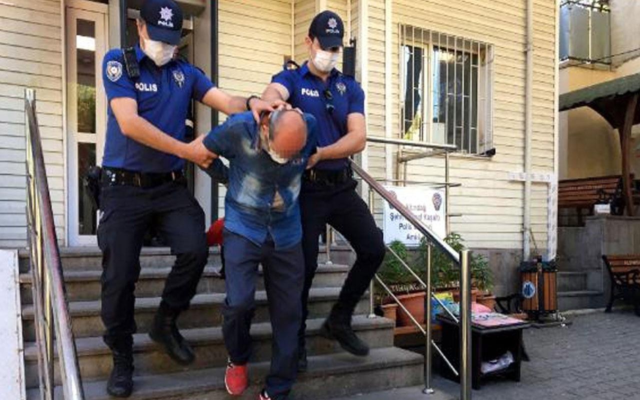 Baba ve oğlunun evine operasyon düzenlendi 10 bin uyuşturucu hapla yakalandılar