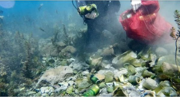 O şehrin içme suyuna çöp karıştı! İnsan eliyle yapılan felaketin görüntüleri...