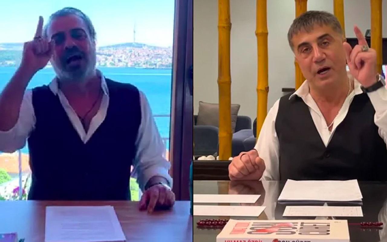 Sermiyan Midyat Sedat Peker'i taklit etti sosyal medyanın gündemine oturdu!