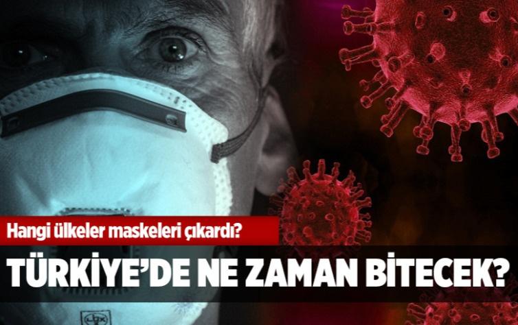 Hangi ülkeler maskeleri çıkardı? Türkiye'de ne zaman bitecek?