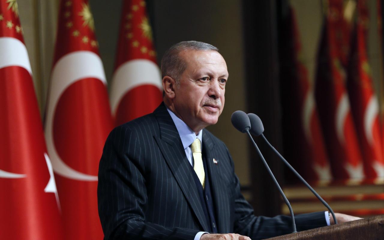 """Cumhurbaşkanı Erdoğan'dan tarihi mesaj!  """"Bütün dünya bilsin"""""""