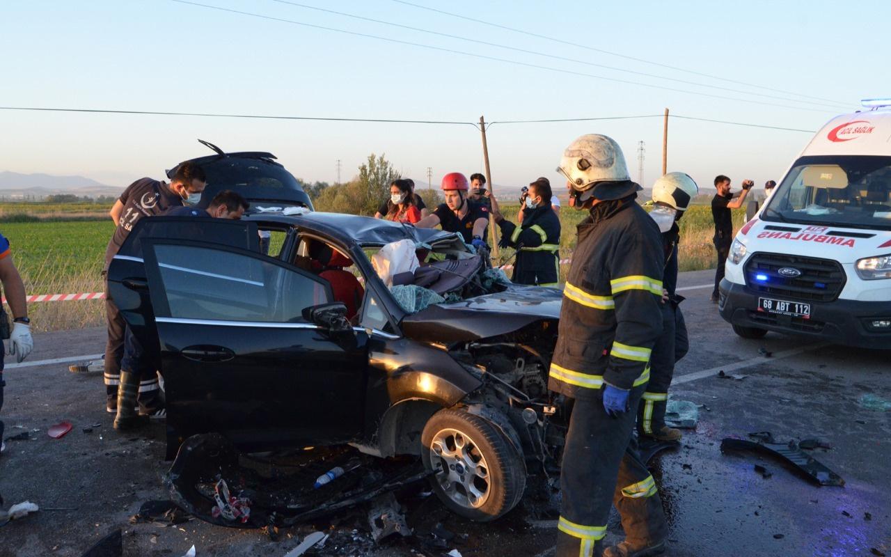 Aksaray'da zincirleme kazada ölü sayısı 4'e yükseldi