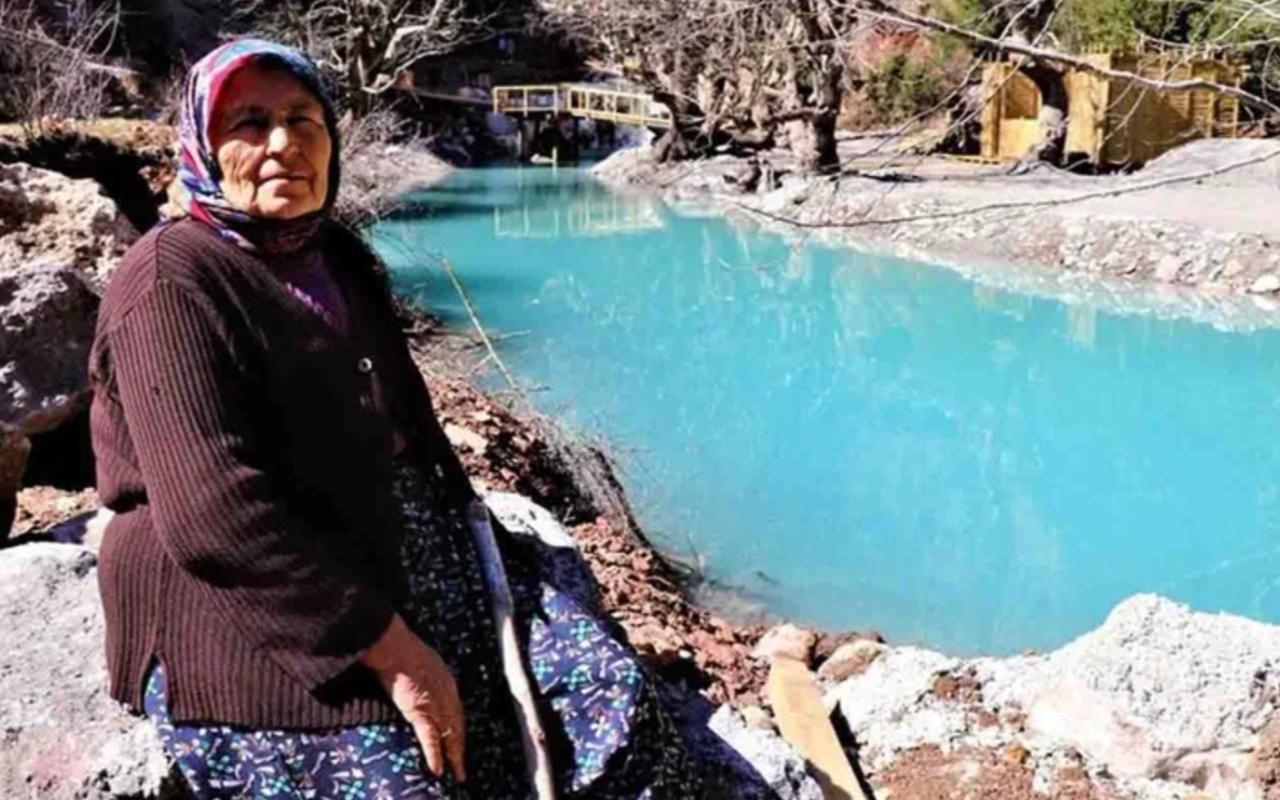 Gizli kalmış masmavi su! Köy halkı 40 yıldır buraya gitmeye korkuyor