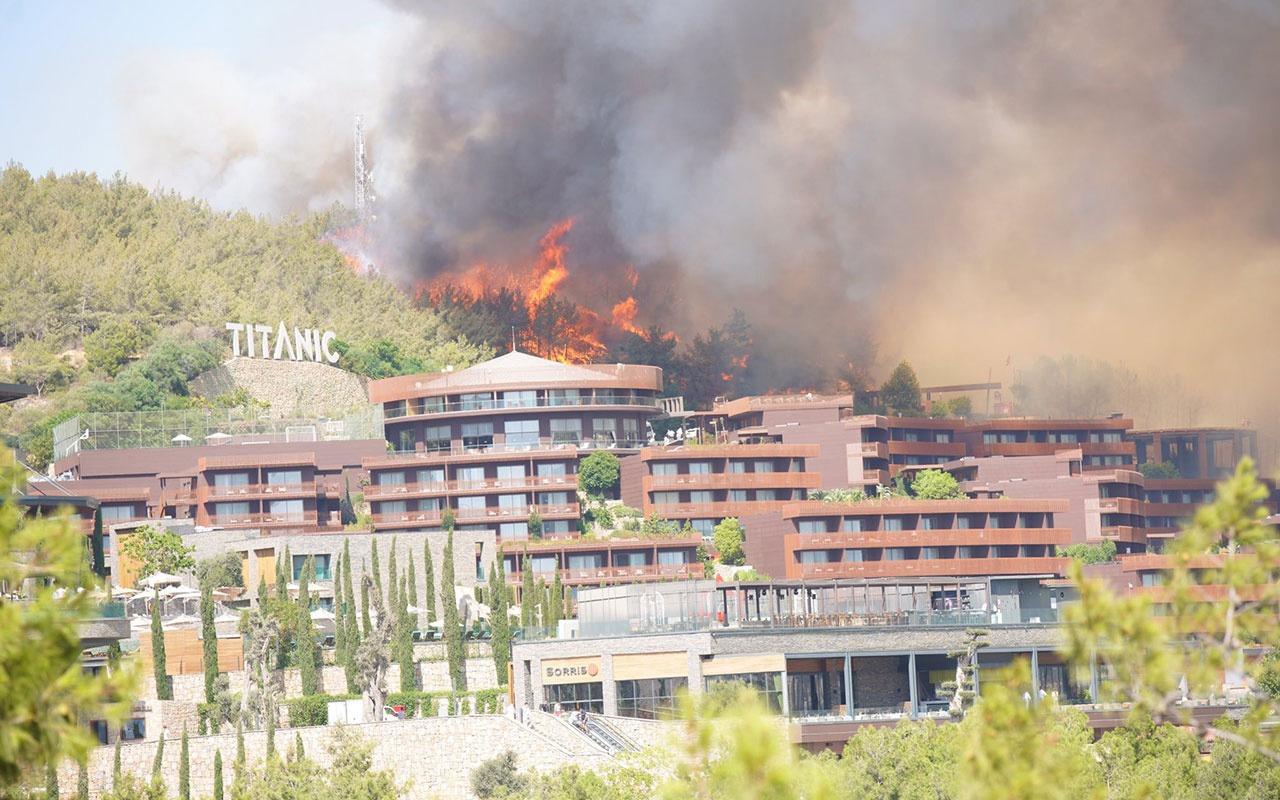 Kabus bitmiyor! Şimdi de Bodrum yanıyor oteller boşaltılıyor