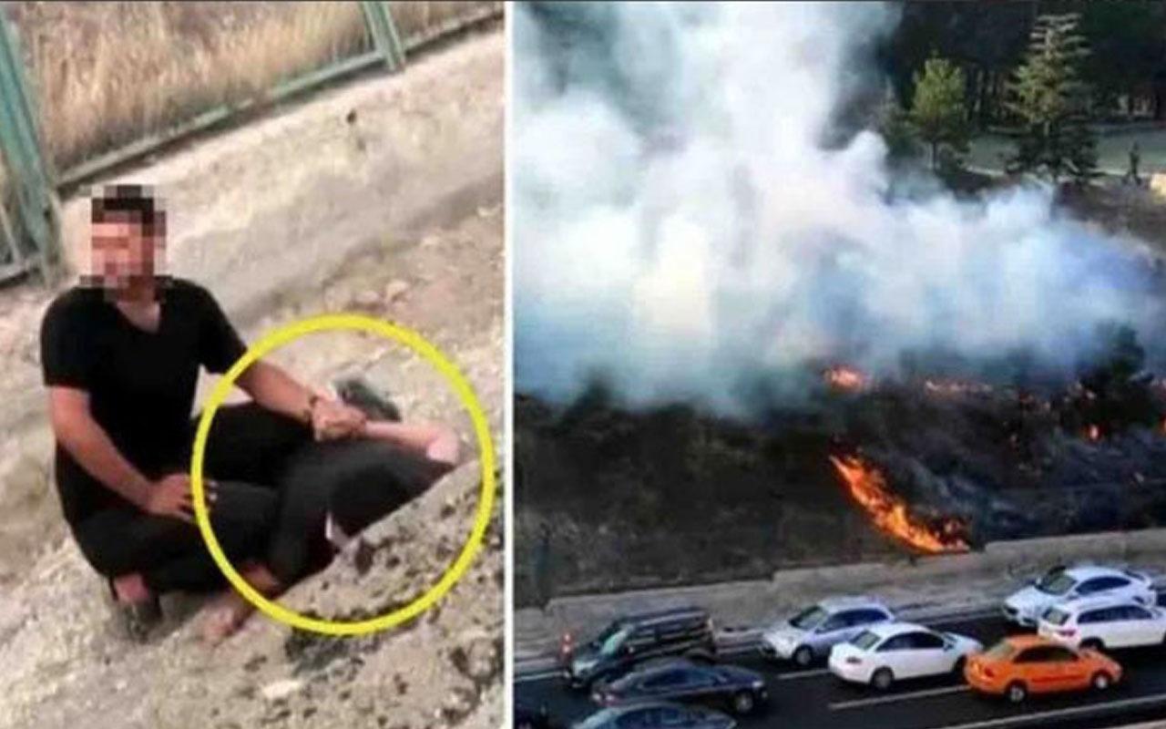 Yangın çıkarırken suç üstü yakalanmıştı! Başsavcılıktan açıklama geldi