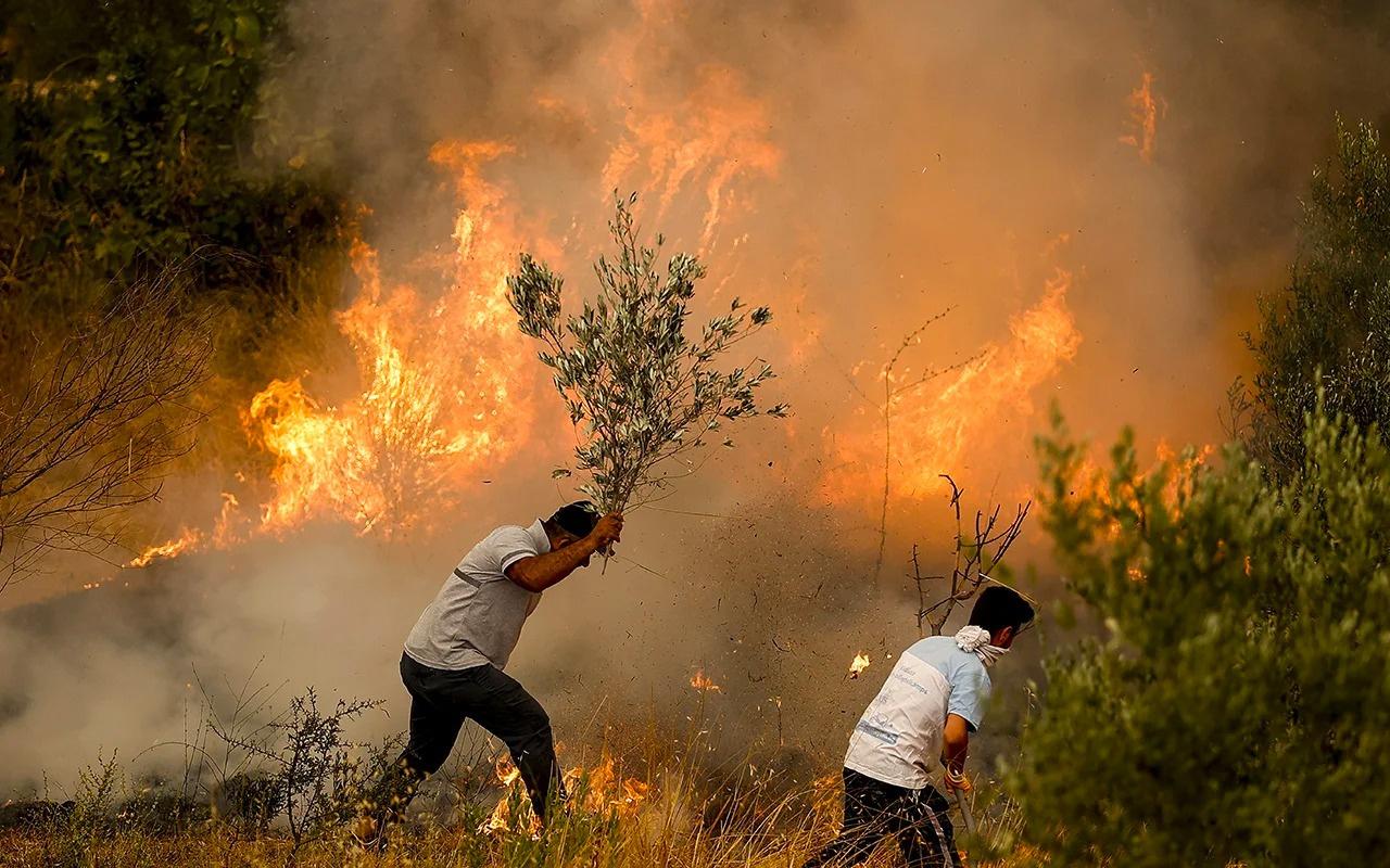 Türkiye yanıyor, sosyal medya ayakta! Bu videoları izleyenler gözyaşlarını tutamıyor