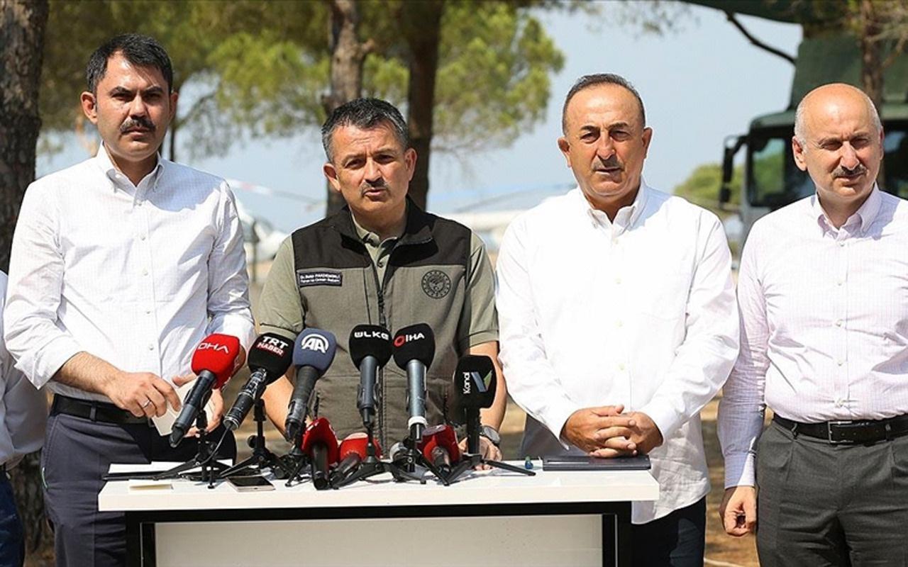 Bakan Murat Kurum yangında etkilenen yapı sayısını açıkladı! Acil yıkılacak yerler var...