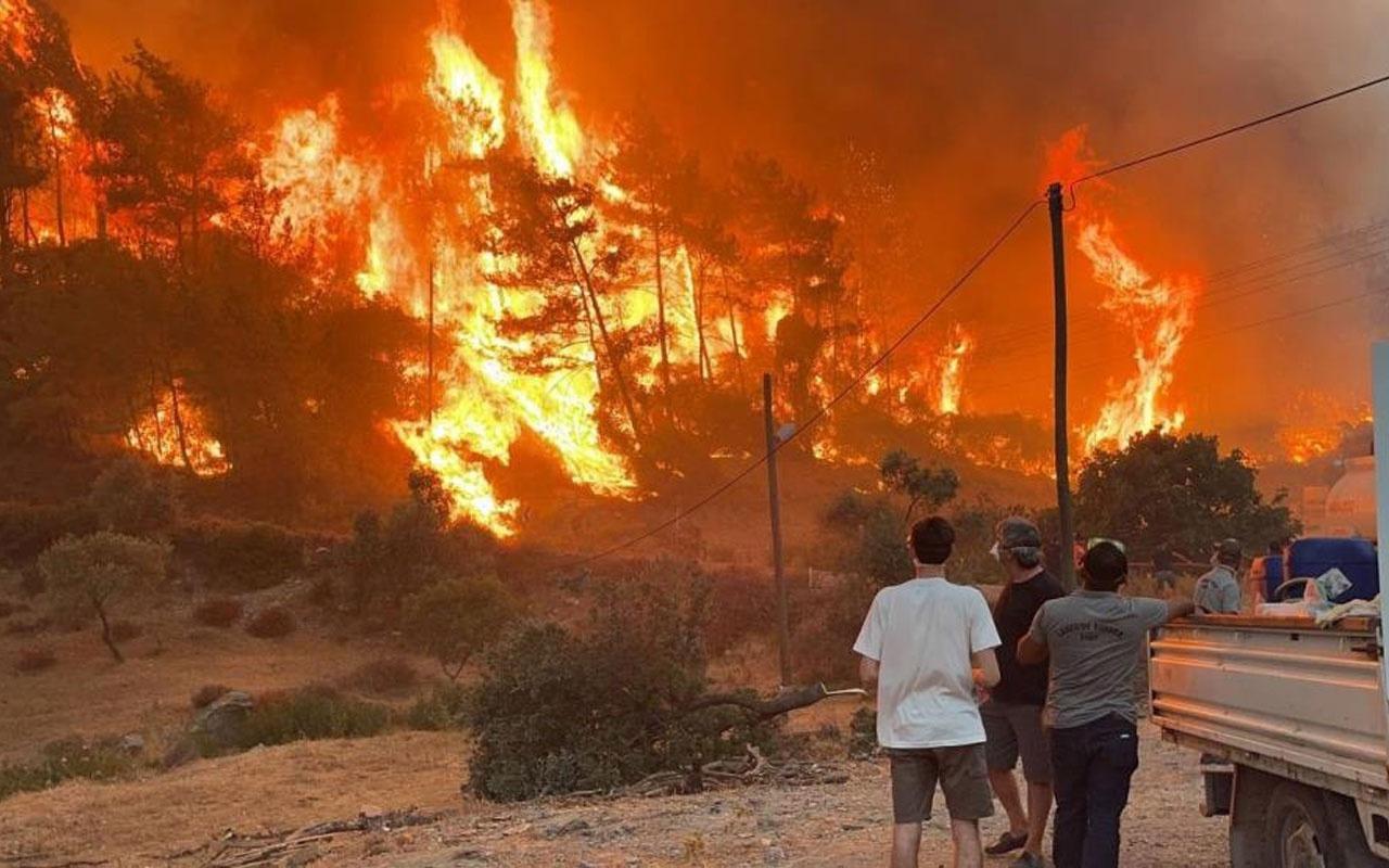 6 mahalleye tahliye kararı! Yangın bölgelerinde son durum!