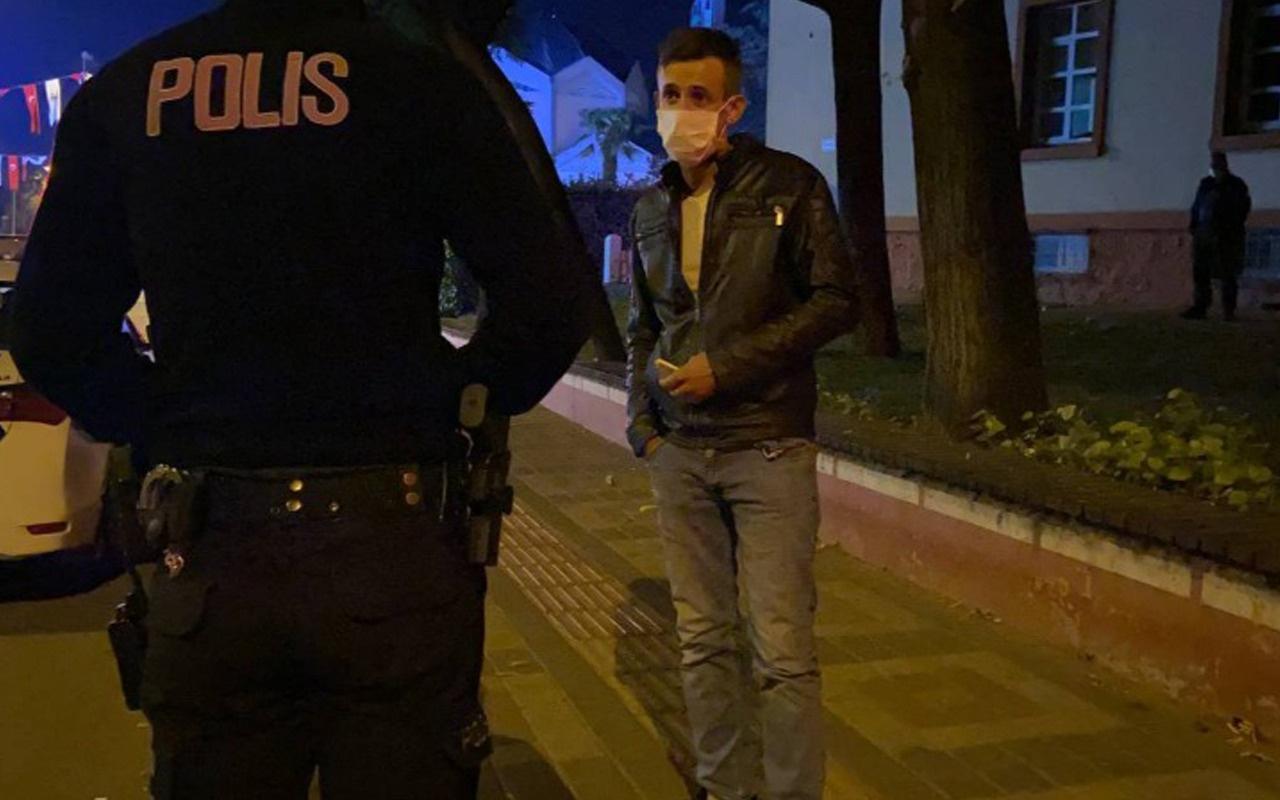Polis ekiplerine alkollü ve ehliyetsiz yakalanan sürücü: Siz haklısınız, Allah rızası için yapmayın