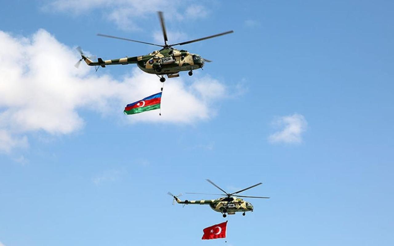 Türkiye ve Azerbaycan ortak tatbikatında işgal bölgeleri kurtarıldı