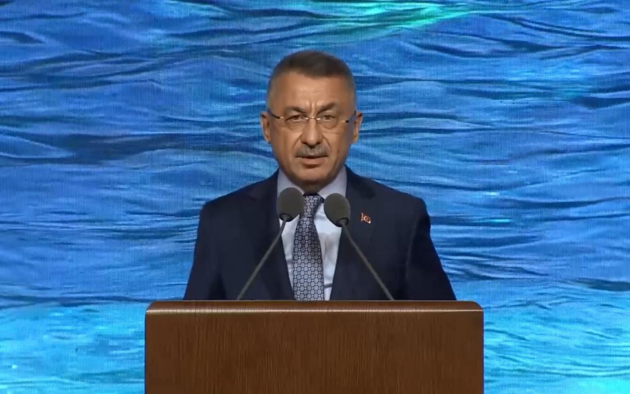 Cumhurbaşkanı Yardımcısı Oktay: Su kaynaklarının geliştirilmesi kritik hal aldı