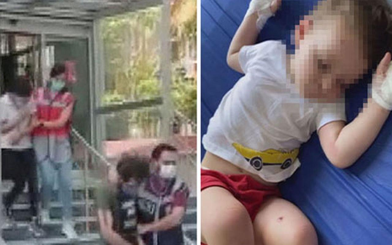 2 yaşındaki bebeğe eziyetten yargılanıyordu o isim tahliye edildi